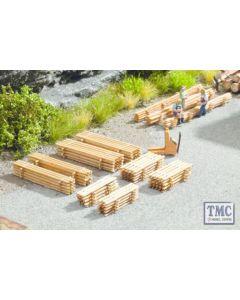N14628 Noch N Scale Piles of Planks (8)