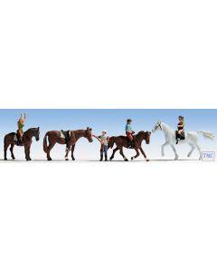 N15630 Noch OO Gauge Horses & Riders (4)