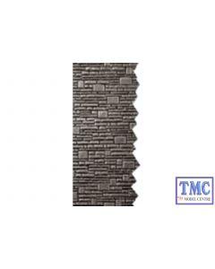 NB-40 Peco N Gauge Stone Walling Sheets 127mm (5in) wide x 63mm (2_in) high Kit