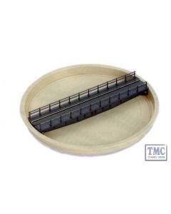 NB-55 N Gauge Turntable Kit well type (deck length 151mm 515/16in) Peco
