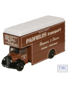 NBP003 Oxford Diecast Padfields Transport Bedford Luton Van 1/148 Scale N Gauge