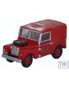 NLAN188010 Oxford Diecast 1:148 Scale N Gauge Land Rover Series 1 Rover Fire Brigade