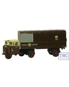 NMH011 Oxford Diecast 1:148 Scale GWR Scammell Van Trailer