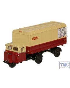 NMH014 Oxford Diecast British Rail Scammell Mechanical Horse Van Trailer 1/148 Scale N Gauge