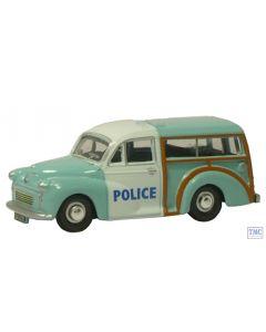 NMMT004 Oxford Diecast Wolverhampton Police Traveller 1/148 Scale N Gauge