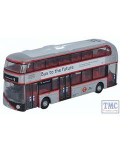NNR003 Oxford Diecast 1:148 Scale N Gauge New Routemaster London United