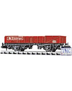 NR-7R Peco N Gauge Railfreight Tube Wagon, BR, red