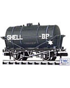 NR-P160 Peco N Gauge Petrol Tank Wagon, Shell/BP