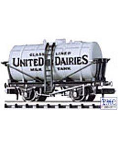 NR-P167 Peco N Gauge Milk Tank Wagon, United Dairies