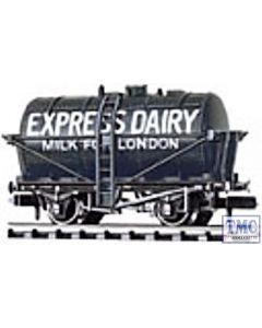 NR-P168 Peco N Gauge Milk Tank Wagon, Express Dairies