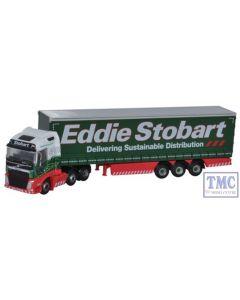 NVOL4001 Oxford Diecast 1:148 Scale N Gauge Volvo FH4 Curtainside Eddie Stobart