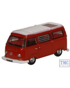 NVW004 Oxford Diecast 1:148 Scale N Gauge Senegal Red/White VW Camper