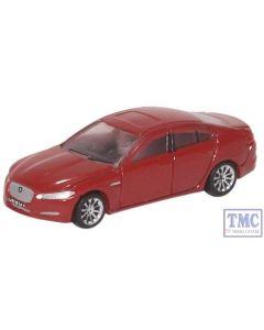 NXF001 Oxford Diecast N Gauge Jaguar XF Carnelian Red