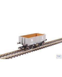 OR76MW4007 Oxford Rail OO Gauge 4 Plank Wagon NE Grey no.155629