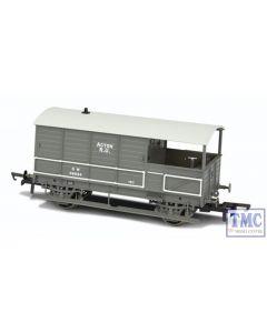 OR76TOB002 Oxford Rail OO Gauge GWR Toad Brake Van Plated (Late) Acton