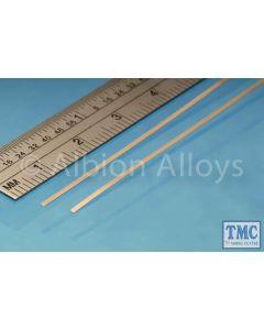 PB1M Albion Alloys Phosphor Bronze Strip 1 mm x 0.135 mm 2 Pack