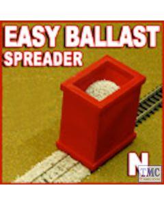 PBS-N-01 Proses N Scale Ballast Spreader