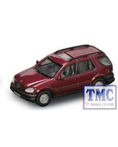 PKYM94213 Road Signature 1:43 Scale 1997 Mercedes-Benz M-Class (Maroon)