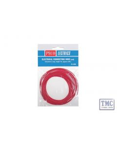 PL-38R Electrical Wire Red 3 amp 16 strand Peco