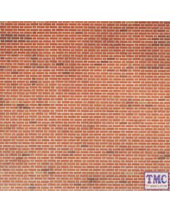 PN100 Metcalfe N Gauge Red Brick Sheets Card Kit