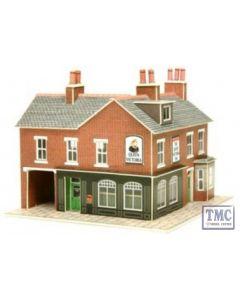 PN116 Metcalfe N Gauge Corner Shop Red Brick Card Kit