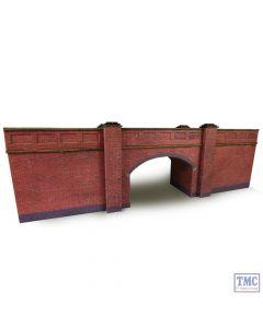 PN146 Metcalfe N Scale Railway Bridge in Red Brick