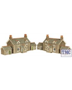 PN155 Metcalfe N Gauge Workers Cottages Card Kit