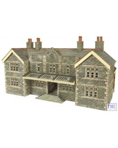 PN920 Metcalfe N Gauge Mainline Station Booking Hall Card Kit