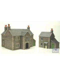 PO250 Metcalfe OO/HO Manor Farm House Card Kit
