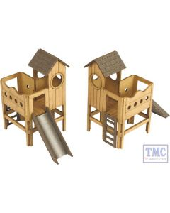 PO513 Metcalfe OO Scale Childrens Play Area Card Kit