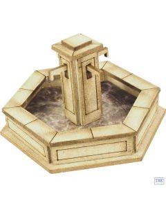 PO522 Metcalfe OO Gauge Stone Fountain