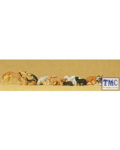 PR14165 Preiser OO/HO Gauge Dogs And Cats