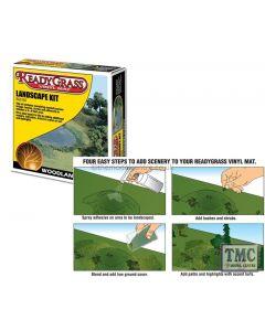 RG5152 Woodland Scenics Readygrass Landscape Kit