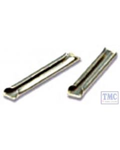SL-210 Peco Z Gauge Rail Joiners nickel silver 24 In Pack