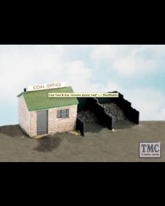 SS15 OO Gauge Coal Yard & Hut Includes Plastic Coal