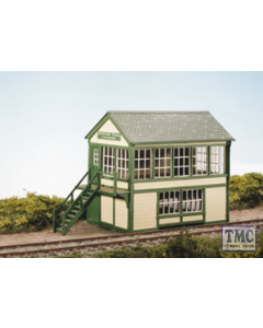 SS48 OO Gauge Timber Signal Box