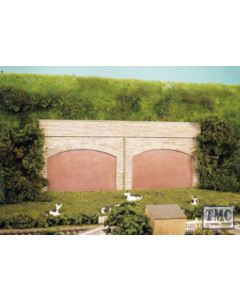 SS69 OO Gauge Stone Type Retaining Arches (4)
