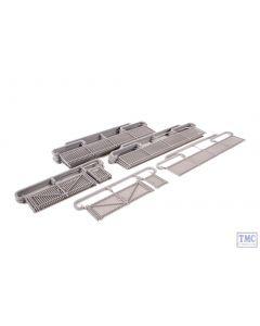 SSM316 Wills OO/HO Gauge Modern Palisade Fencing & Gates