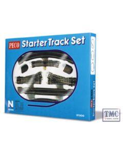 ST-300 N Gauge Starter Track Set complete boxed Peco