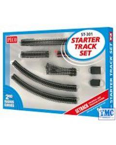 ST-301 Peco N Gauge Code 80 Starter Track Set 2nd Radius
