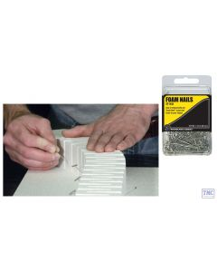 ST1432 Woodland Scenics Foam Nails (x75)