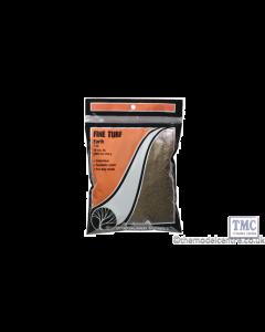 T42 Woodland Scenics Earth Fine Turf (Bag)
