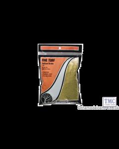 T43 Woodland Scenics Yellow Grass Fine Turf (Bag)