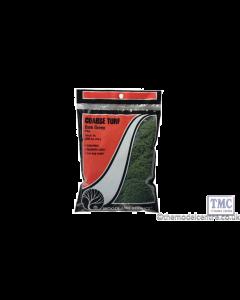 T65 Woodland Scenics Dark Green Coarse Turf (Bag)