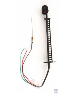 TMC OO Gauge 2-Aspect Colour Light Signal with Ladder (6v-12v DC)