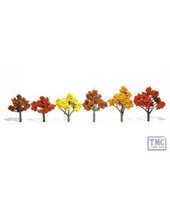 """TR1541 Woodland Scenics 3""""-5"""" Ready Made Fall Mix (6/Pk)"""