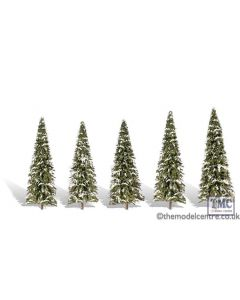 "TR3567 Woodland Scenics 2 ""-3 .5"" Classic Snow Dusted (5/Pk)"