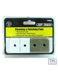 TT4553 Woodland Scenics Tidy Track Cleaning and Finishing Pads