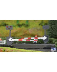 TTLCN10P Train Tech N Gauge Level Crossing Barrier Set with Light & Sound (N) Pair