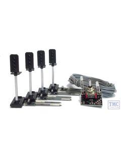 TTSSP1 Train Tech OO Gauge Sensor Signal Starter Pack - 4 Aspect